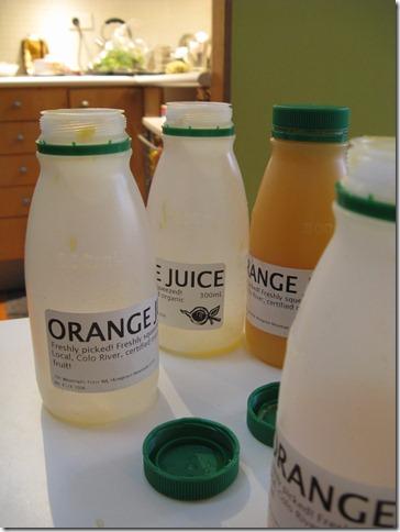 Perfect Organic Orange Juice from Colo River